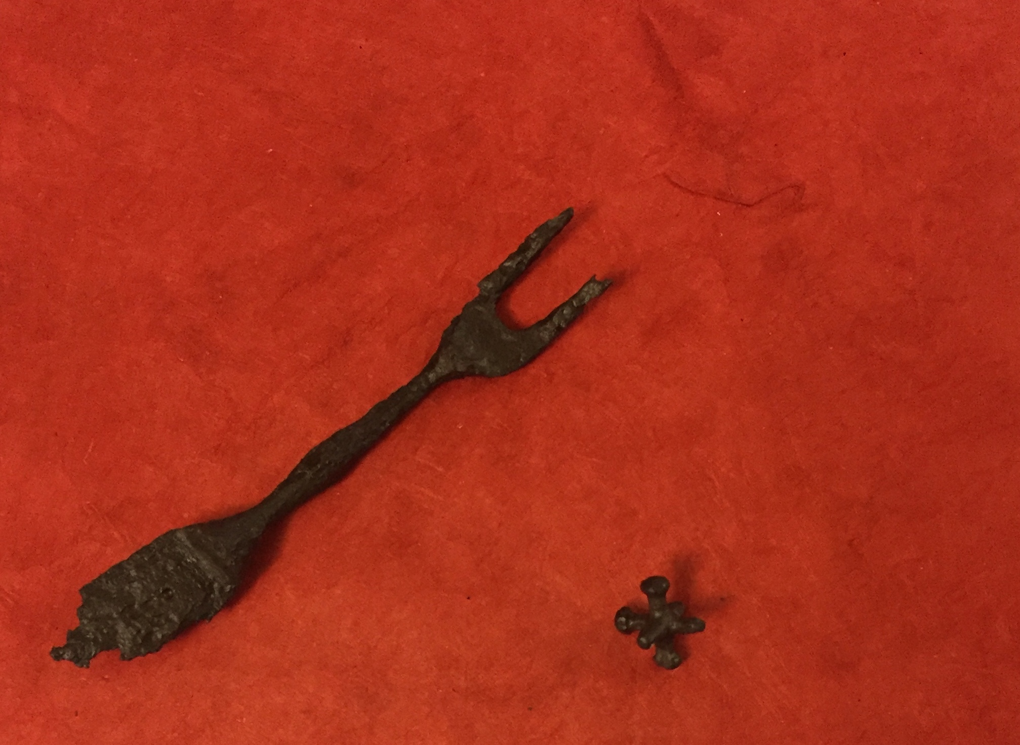 Artifacts excavated from land occupied by freed persons